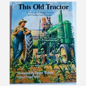 This Old Tractor hardback book